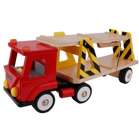 Speelgoed vrachtwagen rood