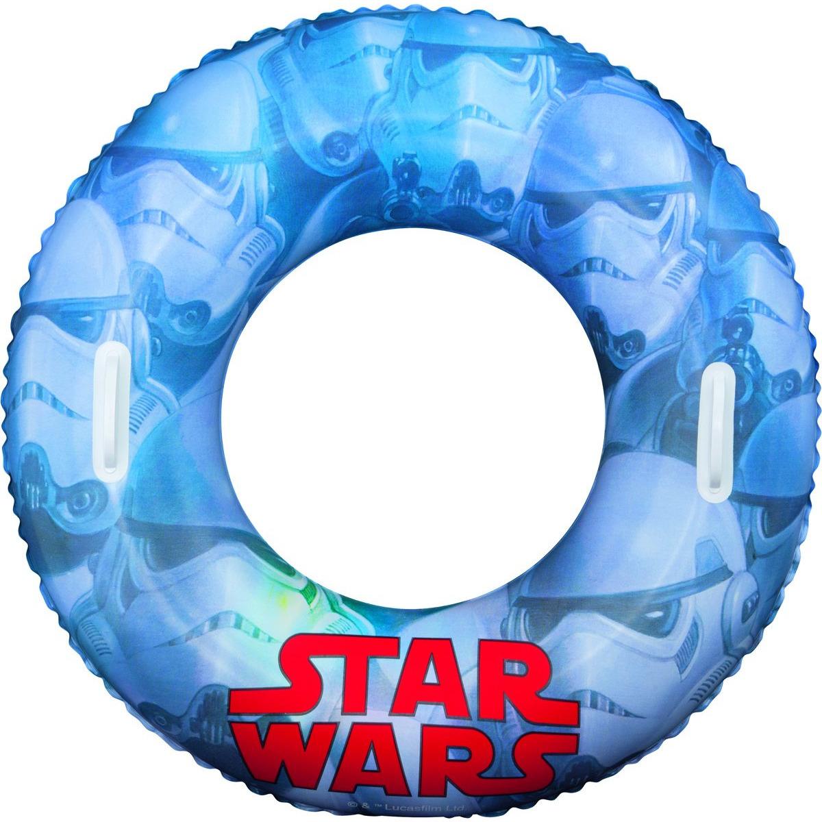 Star Wars zwemband licht blauw (bron: Feestwinkel Fun en Feest)