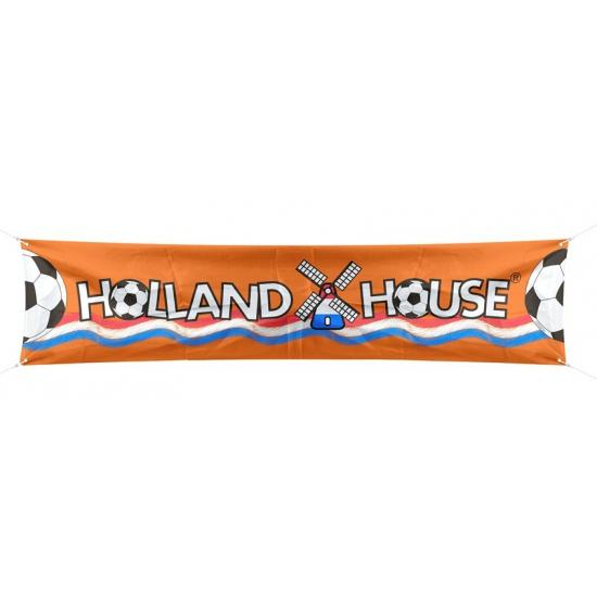 Straat versier spandoek Holland 180 cm