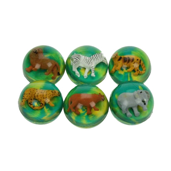 Stuiterbal leeuw (bron: Feestwinkel Fun en Feest)