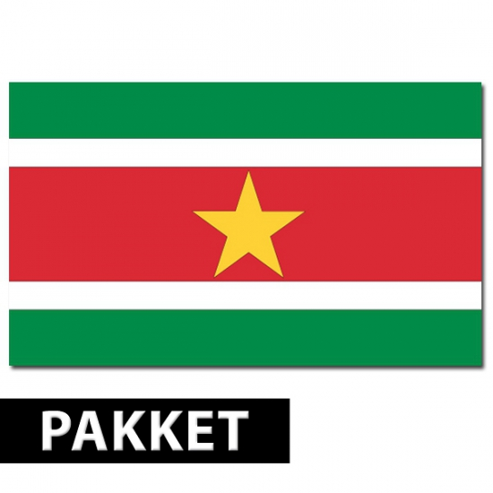 Surinaamse versiering pakket