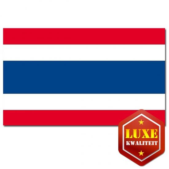 Thaise vlaggen goede kwaliteit (bron: Feestwinkel Fun en Feest)