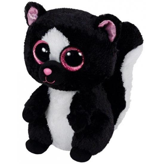Ty Beanie knuffel stinkdier zittend 15 cm