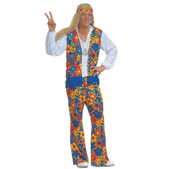 Verkleedkleding Hippie kostuum (bron: Feestwinkel Fun en Feest)
