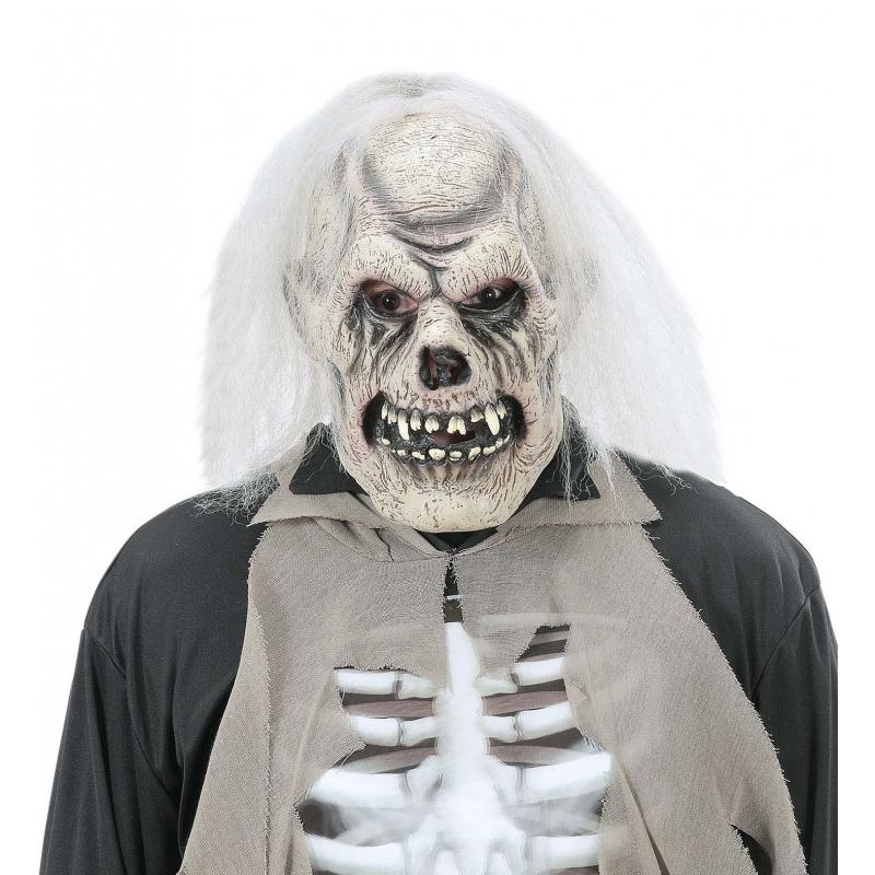 Verrotte schedel masker voor volwassenen (bron: Feestwinkel Fun en Feest)