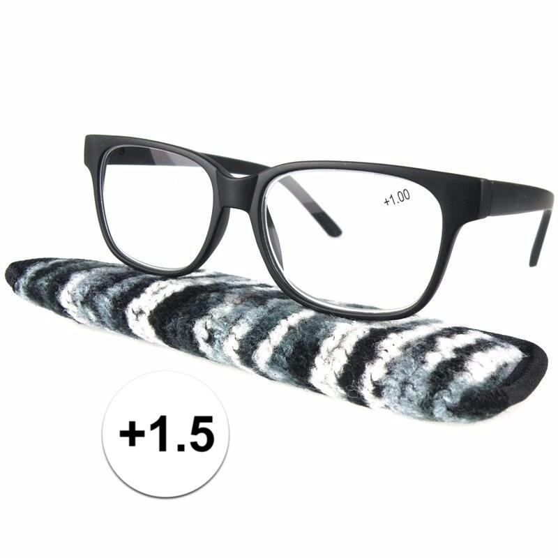 Voordelige leesbril +1.5 zwart