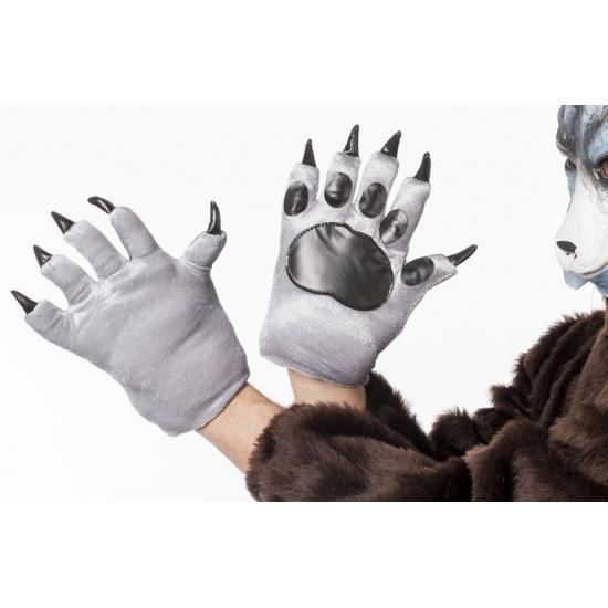 Wolven klauwen handschoenen voor volwassenen (bron: Feestwinkel Fun en Feest)