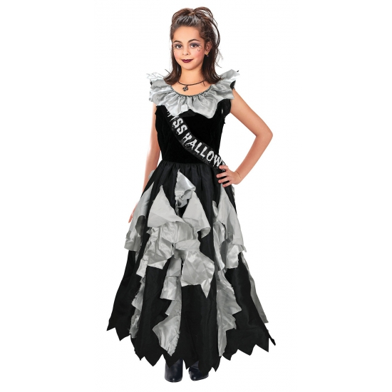Zombie jurk voor meisjes (bron: Feestwinkel Fun en Feest)