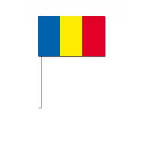 Zwaaivlaggetjes Roemenie (bron: Feestwinkel Fun en Feest)