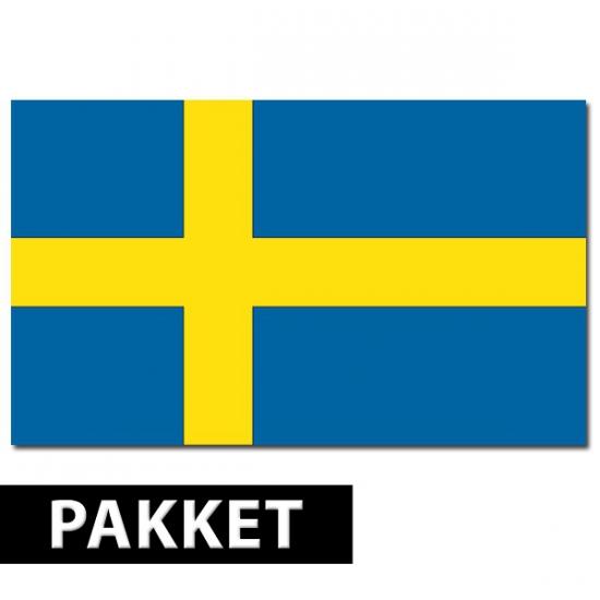 Zweden versiering pakket