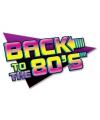 Back to the eighties muurbord