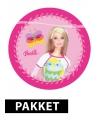 Barbie feestartikelen en versiering pakket