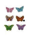 Bruine vlinder magneet