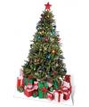 Kerst versiering kartonnen kerstboom