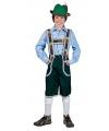 Groene Oktoberfest lederhose voor jongens