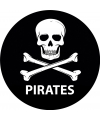 Piraten thema onderzetters