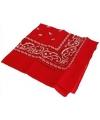 Rode boeren zakdoeken