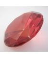 Rode decoratie diamanten 10 cm