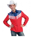 Rodeo cowboy blouse voor heren