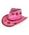 Ibiza strand hoed roze