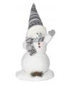 Winter decoratie sneeuwman 44 cm