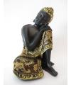 Woondecoratie Boeddha beeldje 19 cm