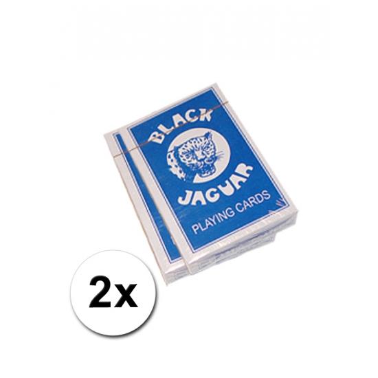 2 pakjes spelletje kaarten