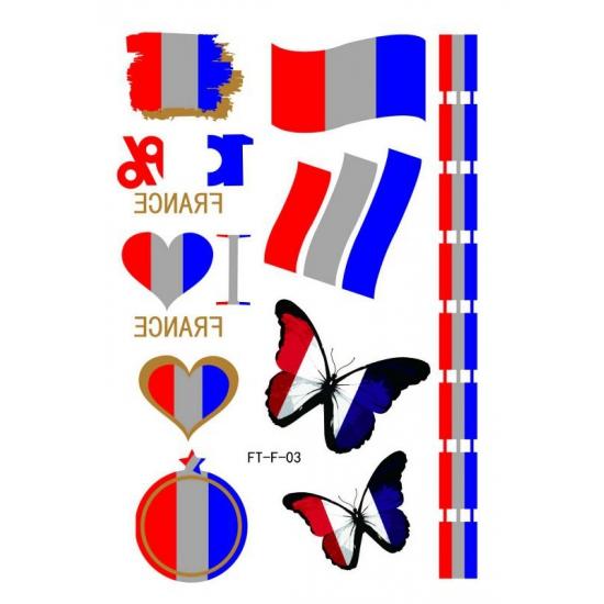 3D tatoeages Frankrijk