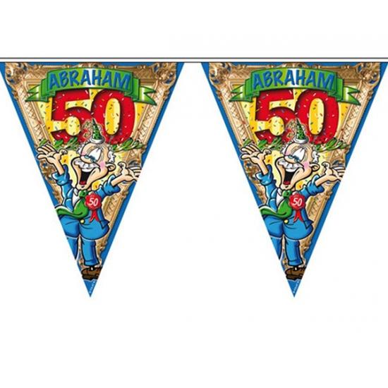 50 jaar vlaggenlijn voor de Abraham