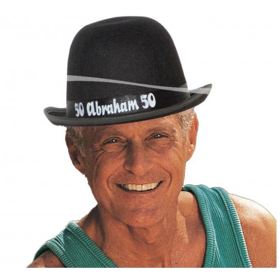 Abraham pop hoedje Zwart