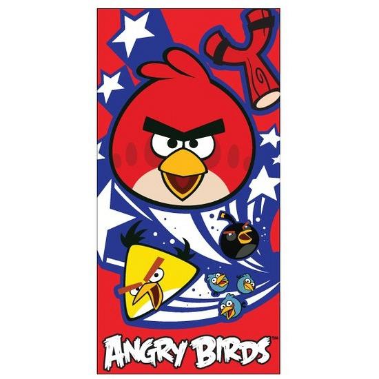 Badlaken Angry Birds 70 x 140 cm Multi