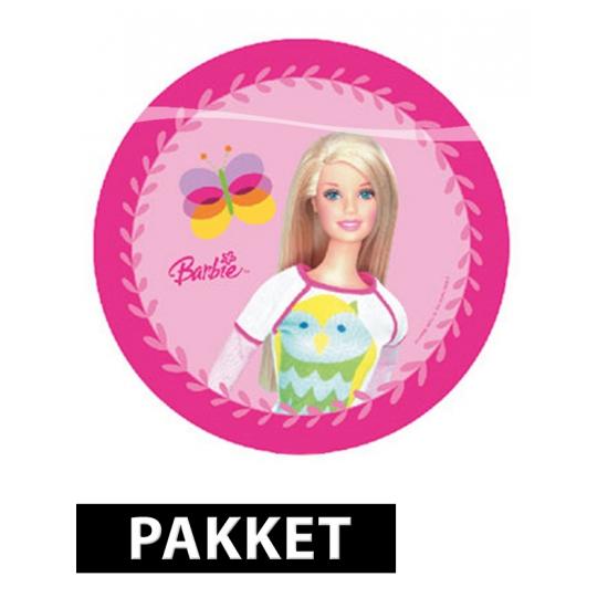 Barbie feestartikelen en versiering pakket Multi