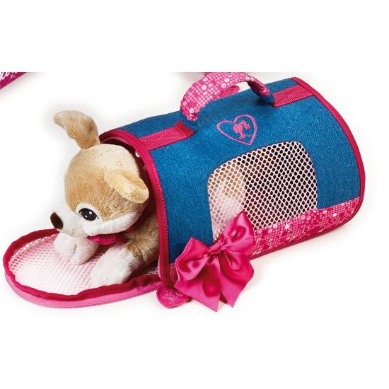 Barbie honden draagtas met Chihuahua knuffel