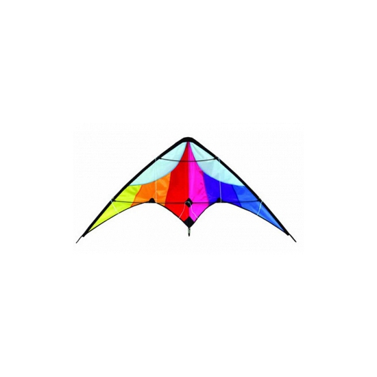 Delta strand vlieger 130 x 60 cm Multi