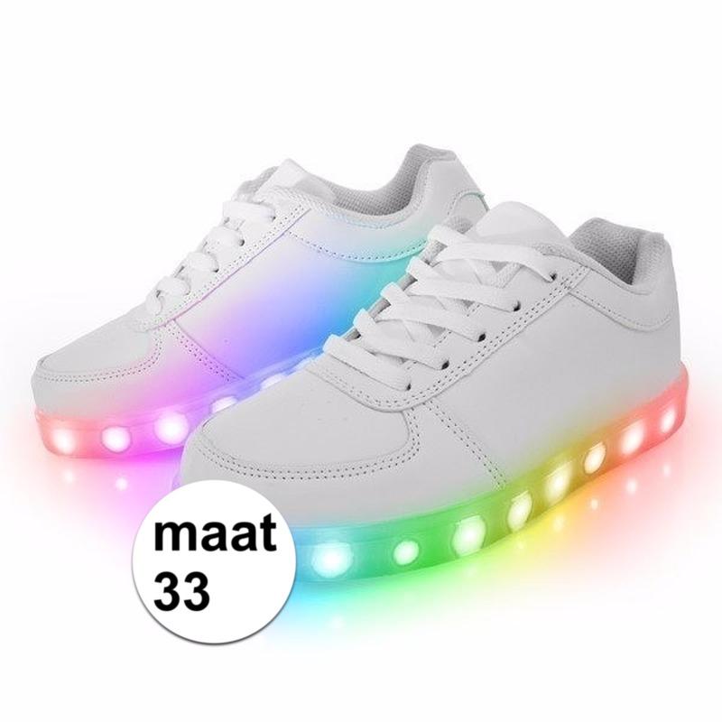 c033f656b69 Disco schoenen met licht maat 33 | Fun en Feest