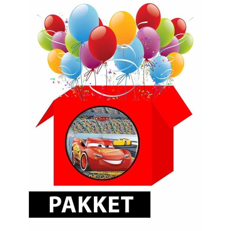 Disney Cars versiering pakket voor kinderfeestje Multi