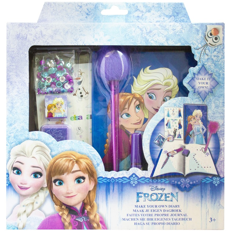 Feestartikelen Met Dagboek Frozen Met Slot