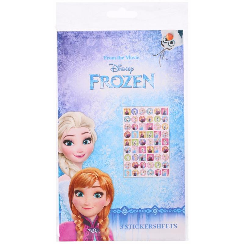 Disney Frozen stickerset 108 stickers