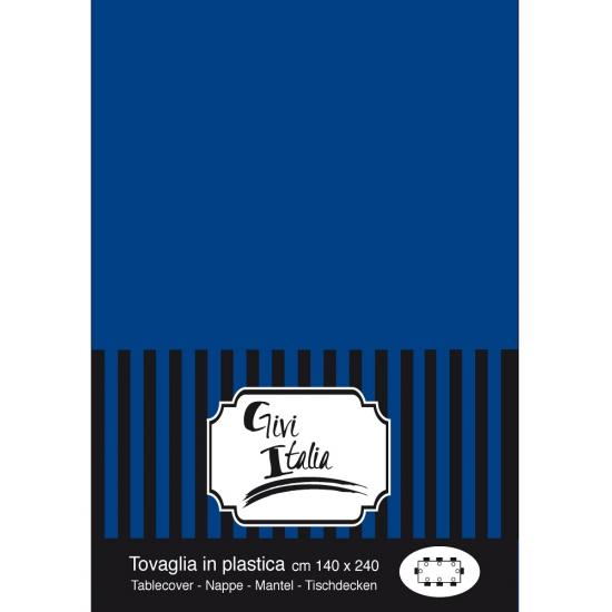 Donkerblauwe tafelkleden 140 x 240 cm Blauw