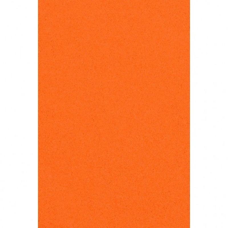 Feest versiering oranje tafelkleed 137 x 274 cm papier Oranje