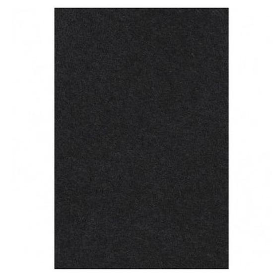 Feest versiering zwart tafelkleed 137 x 274 cm papier Zwart