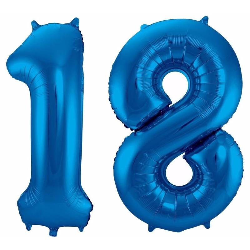 Folie ballon 18 jaar 86 cm
