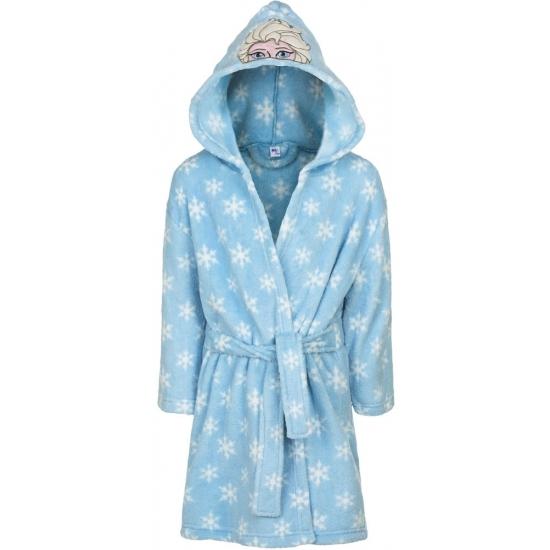 Frozen badjas licht blauw 128-134