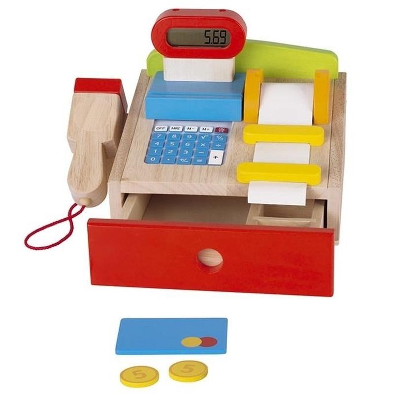 Functionerende speelgoed kassa Multi