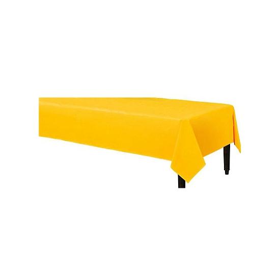 Gele tafelkleden 140 x 240 cm Geel