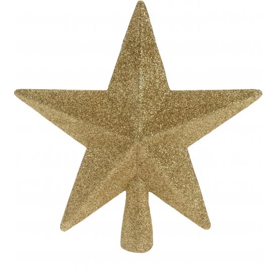 Gouden onbreekbare ster piek Goudkleurig