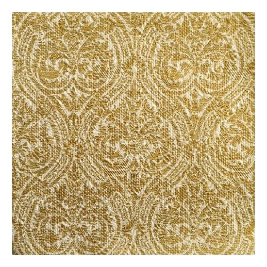 Gouden wegwerp servetten barok motief 3-laags 15 stuks Goudkleurig