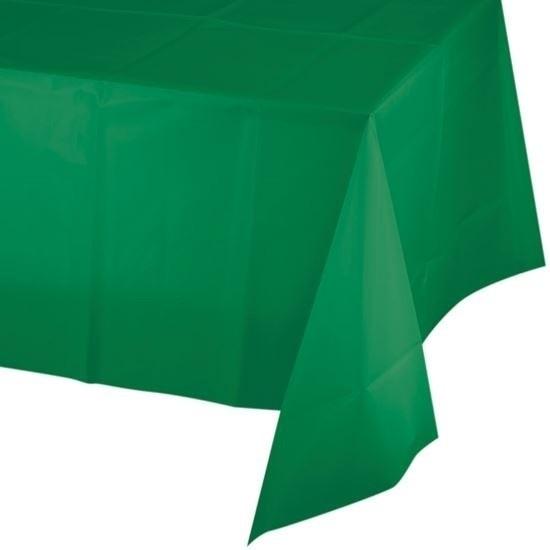 Groene tafelkleden 137 x 259 cm Groen