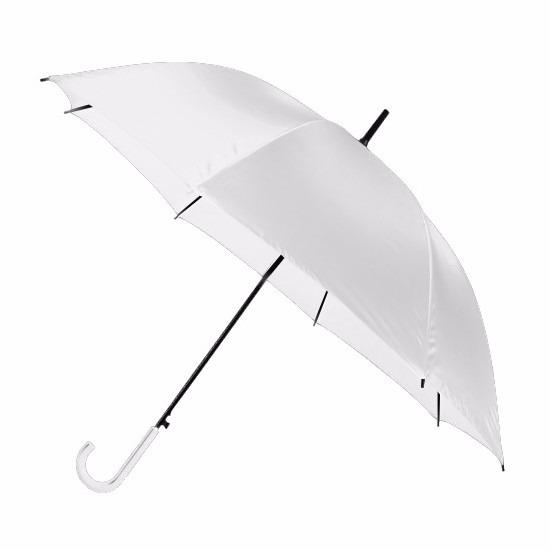 Grote paraplu wit 107 cm Wit