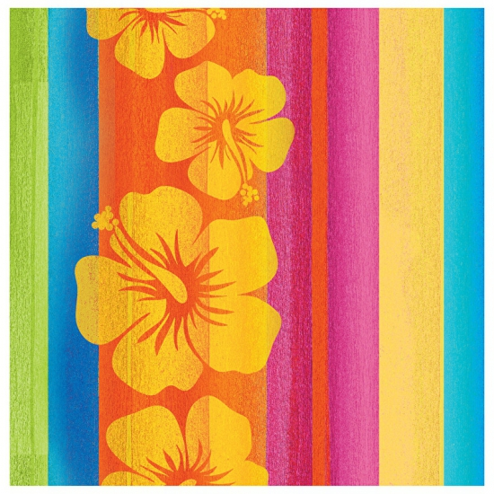 Hawaii thema servetten 16 stuks Multi